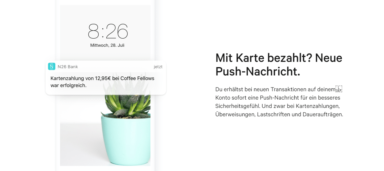 N26 App Android iPhone