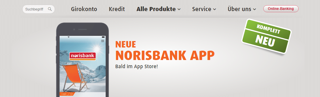 norisbank app android iphone