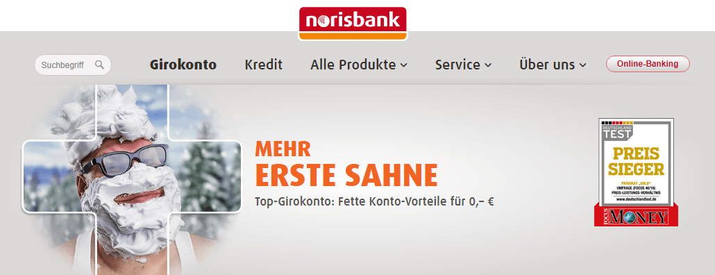 norisbank girokonto test