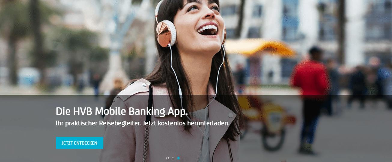 HVB Banking App für Android und iOS