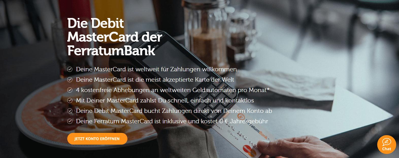 Ferratum Bank Kreditkarte