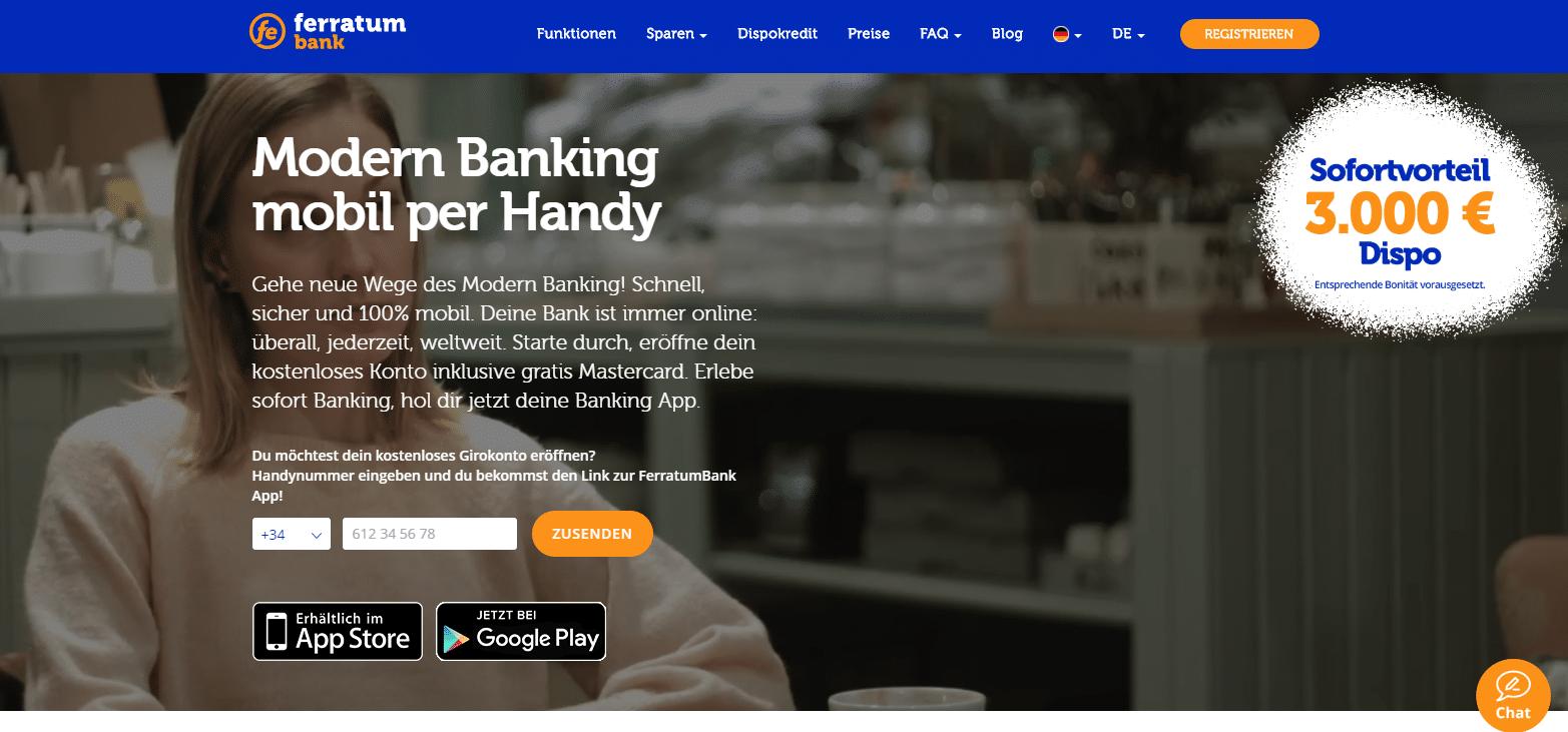 Ferratum Bank Girokonto